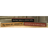 Dog Mini Sticks, 3/Set