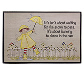 Dance in the Rain Sign