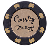 Country Blessings Sheep Plate