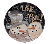 Love You More Plate