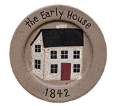 The Early House Plate