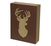 Deer Head Box Sign