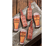 Set of 6 Beer Magnets