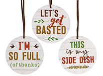 3/Set, Let\\'\\'s Get Basted Wine Tags
