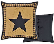 "Delaware Quilted Pillow, 16"" Sq."