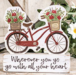 Go With All Your Heart Bicycle