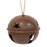 Rusty X-Large Jingle Bell, 4-1/2""