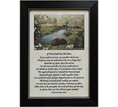 If You Could See Framed Print