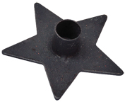 Iron Star Candle Holder