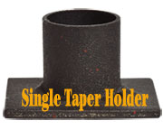 Single Iron Taper Holder