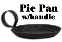 Pie Pan Candle Holder - Small