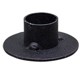 Circle Taper Holder - Black
