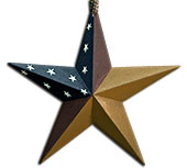 Colonial Barn Star, 8""
