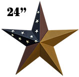 Colonial Barn Star, 24""