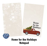 Home for the Holidays Notepad