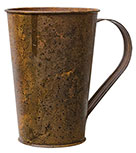 Rusty Brown/Black Mug