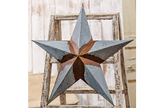 Rusty Galvanized Star - 18""