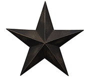 Antique Black Barn Star - 24""