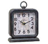 Antiques Pewter Clock