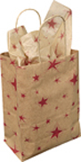 Red Star Gift Bag - Medium