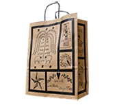 "Primitive Blessings Gift Bag - 13"" x 7"""