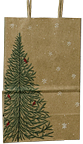 Evergreen Gift Bag - 8""
