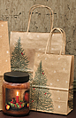Evergreen Gift Bag - 10-1/2""