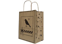 Crow Gift Bag, Medium