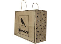 Crow Gift Bag, Large