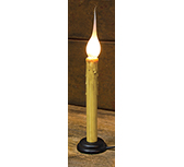 Primitive Candle Lamp - 7.5""