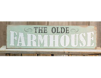 The Olde Farmhouse Plaque
