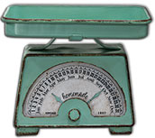 Decorative Scale Calendar