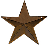 Rusty Pocket Star, 12""