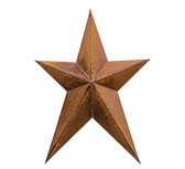 Whimsy Rusty Star 12""