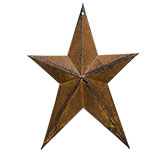 Whimsical Star Rusty 8""