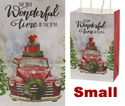 Vintage Truck Gift Bag, Small