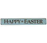 Happy Easter Engraved Sign, 12""