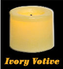 LED Votive - Ivory