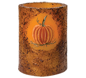 Pumpkin Timer Pillar, Burnt Mustard