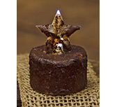 Cinnamon Star Timer Tealight