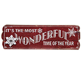 Wonderful Time Sign