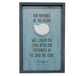 Ocean Memories Framed Sign
