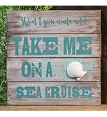 Sea Cruise Sign