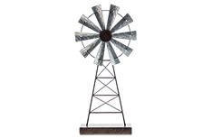Rustic Windmill Stand