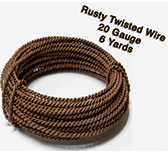 Rusty Twisted  Wire