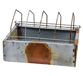 Galvanized Vintage Feeder Box