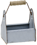 Galvanized Mini Toolbox