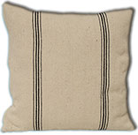Black Stripe Pillow Case