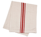 Grain Sack Red Stripe Long Runner