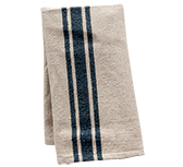 Grain Sack Gray Stripe Towel